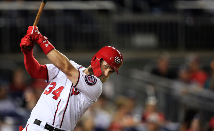 With a Record Contract, Bryce Harper Eclipses and Lifts His Peers