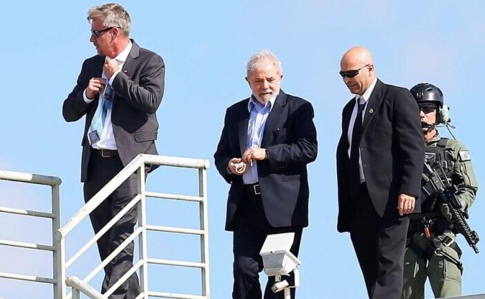 'Lula,' Ex-President of Brazil, Temporarily Leaves Prison for Grandson's Funeral