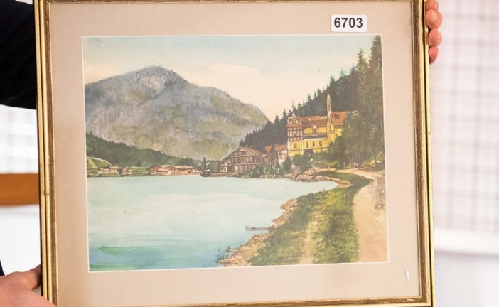 Are These Paintings Really by Hitler? German Authorities Are Investigating