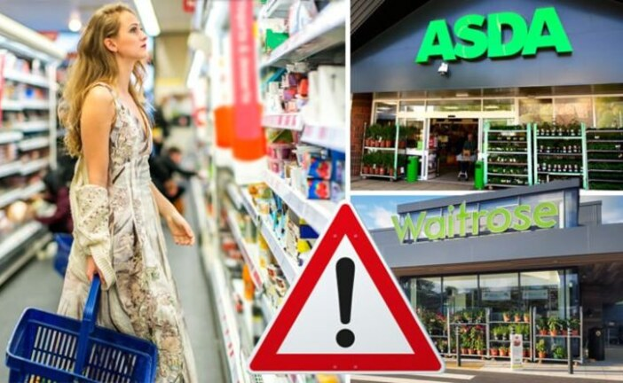 Urgent recall: ASDA, Boots, Waitrose and Co-op – FULL LIST of affected foods