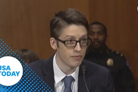 Ethan Lindenberger testified before Congress about opposing his mom's stance on vaccines