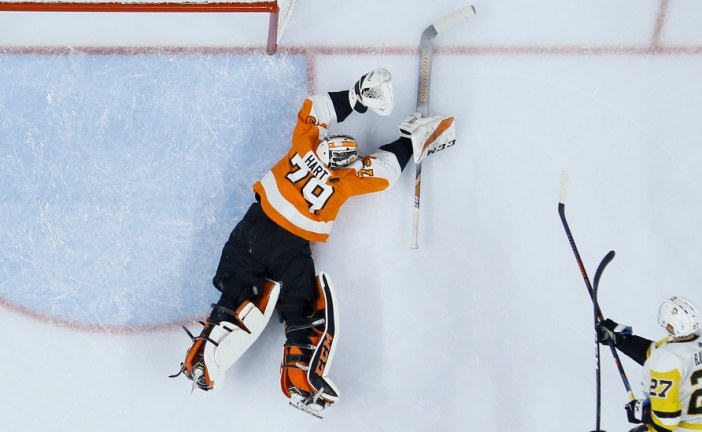The Flyers' Goalie-Go-Round May Have Discovered a Star