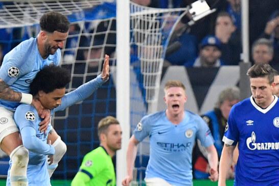 Champions League: Leroy Sané Saves Manchester City