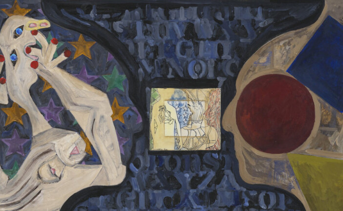 Jasper Johns Stays Divinely Busy