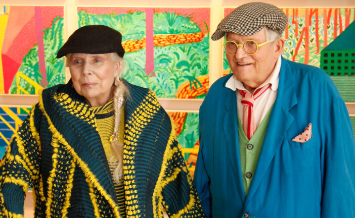 Of David Hockney and Joni Mitchell Holding Hands