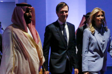 Kushner Met With Saudi Crown Prince to Push Mideast Peace Plan