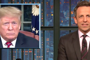 Seth Meyers Crunches All Donald Trump's Numbers On The Wall
