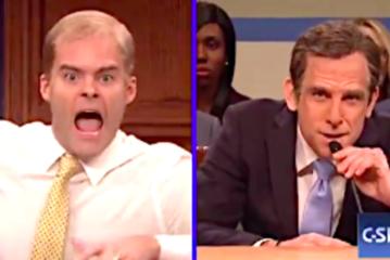Bill Hader's Jim Jordan Loses It Yelling At Ben Stiller's Michael Cohen On 'SNL'