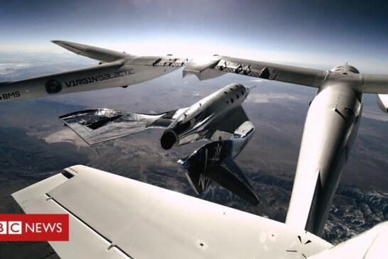 Virgin Galactic: Scots-born pilot rockets into space