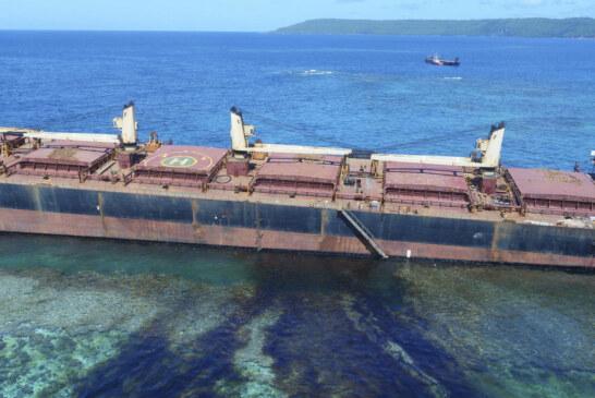 Solomon Islands Oil Spill Expanding Toward UNESCO Site : NPR