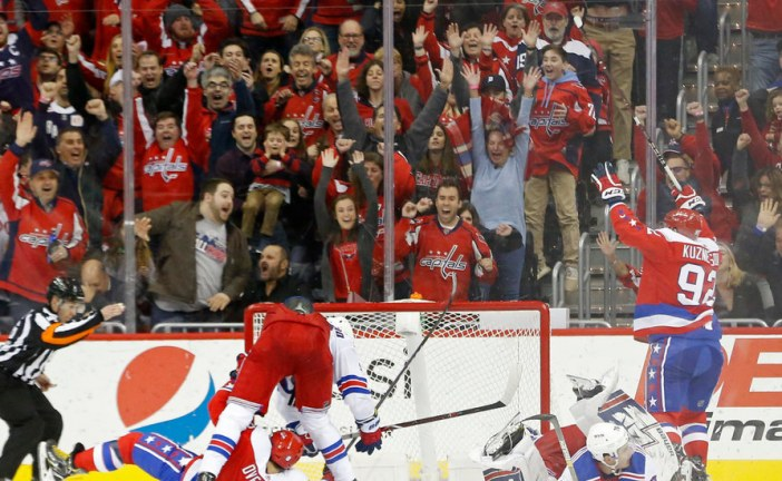 Capitals Down Rangers and Pull Closer to Islanders