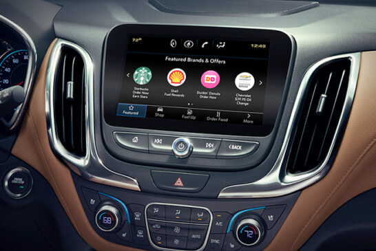 New GM app lets you order Starbucks while you drive