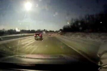 Fireball Cuts Through the Sky Over Michigan as Meteor Falls