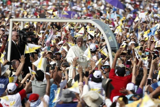 Pope Lauds Peru's Young, but Stays Silent on Church Sex Abuse