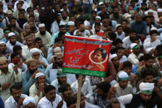 Pakistani Court Acquits Christian Woman in Capital Blasphemy Case