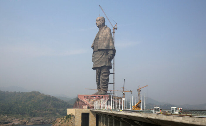 India Unveils World's Tallest Statue, Twice the Size of Lady Liberty