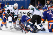 A Shutout for Robin Lehner in His Islanders' Debut
