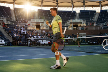 Dominant Doubles Tennis Player Adjusts to the Spotlight
