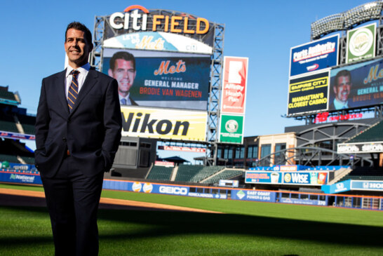 Mets Introduce Brodie Van Wagenen, Their New G.M. (and a Recovering Agent)