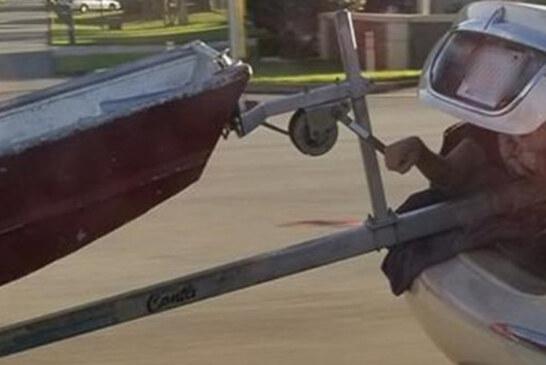 Florida Man Turns Himself Into Human Boat Trailer Hitch