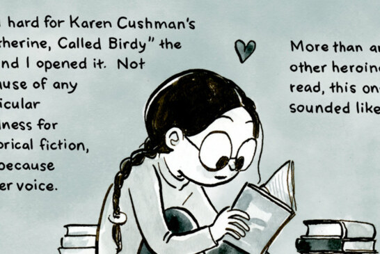 A Graphic Appreciation for 'Catherine, Called Birdy'