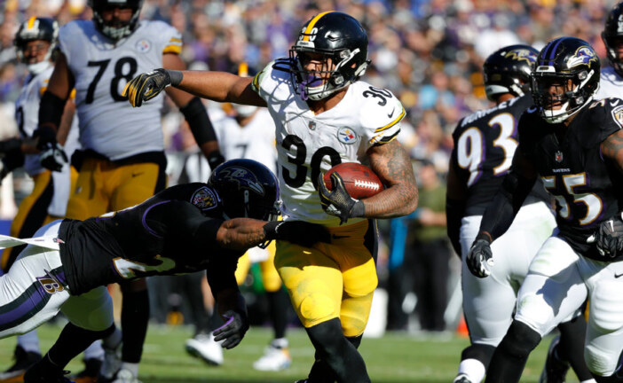 N.F.L. Week 9: Steelers Hold On, and Chiefs Win Big