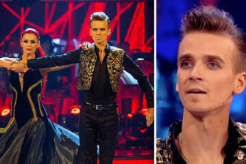 Strictly Come Dancing 2018: Joe Sugg and Dianne Buswell wardrobe malfunction Paso Doble | TV & Radio | Showbiz & TV