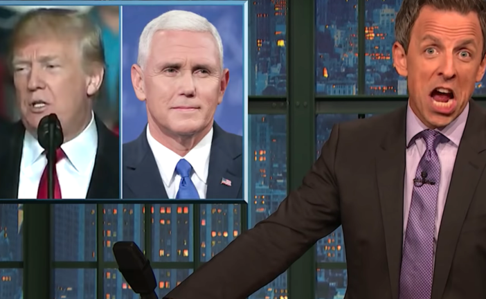 Seth Meyers Breaks Down Why Republican Leaders Could 'Double As A Viagra Commercial'