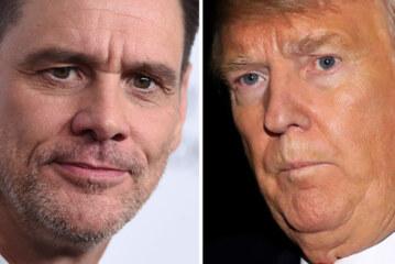 Jim Carrey Gives 'Monster' Donald Trump A Terrifying Halloween Makeover