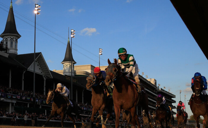 In Winning Breeders' Cup Classic, Accelerate Challenges a Triple Crown Winner