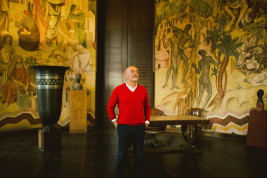 Christian Louboutin Helps to Restore His Boyhood Hangout