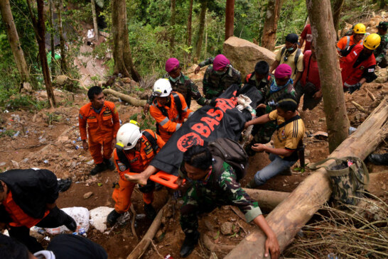 Death Toll From Indonesia Landslide Climbs to 17