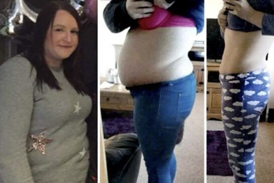 Weight loss diet plan: Woman loses 5 stone in 6 months – see the before and after pictures