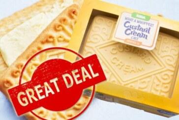 ASDA UK: Custard Cream cake selling for just £8 in the UK supermarket sale