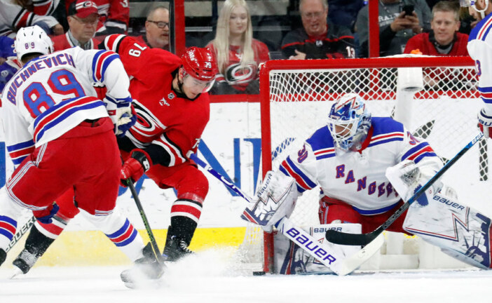 Lundqvist and Namestnikov Help Rangers Beat Hurricanes