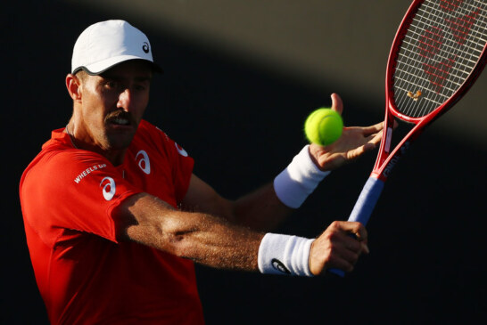 Stevie Johnson Still Carries His Grief Onto the Tennis Court