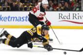 Struggling Devils Lose to the Surging Bruins